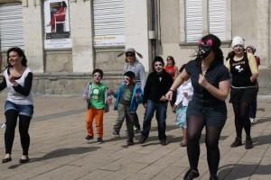 Flash mob event