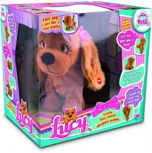 a cuddly toy in a box