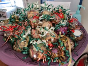 treat filled baubles
