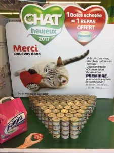 publicity for cat food promotion